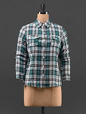 Madras Checks Cotton Shirt - Feyona
