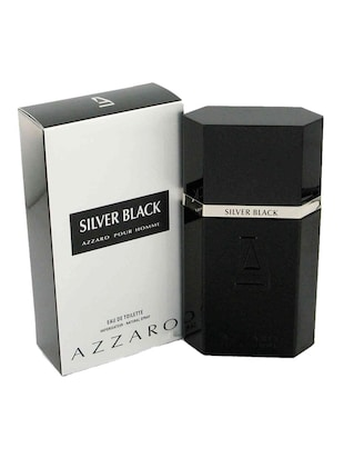 Azzaro Silver Black EDT Perfume for Men 100ml -  online shopping for Accessories