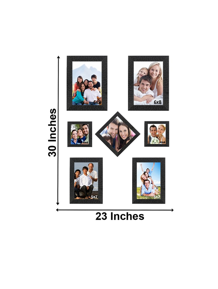 Buy Sifty Collection Collage Photo Frame(6x8) 2, (4x4) 2, (5x5) 1 ...