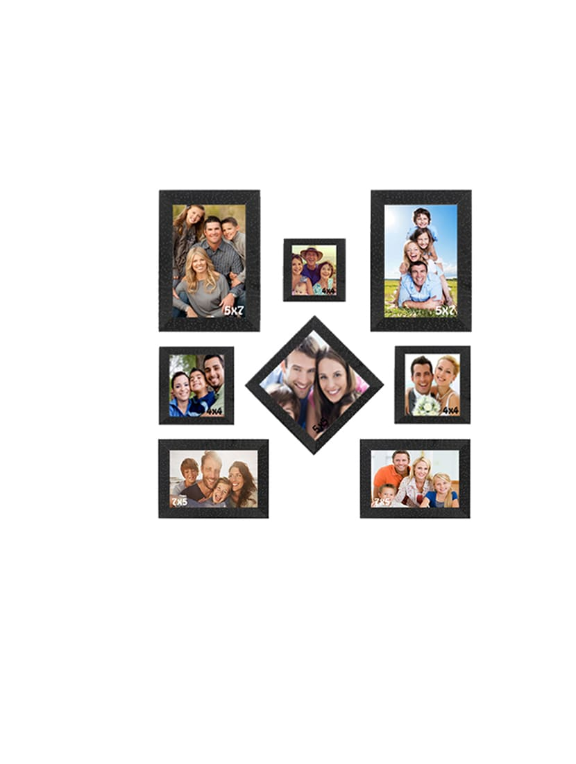 Buy Sifty Collection Collage Photo Frame(5x7) 2, (4x4) 3, (5x5) 1 ...