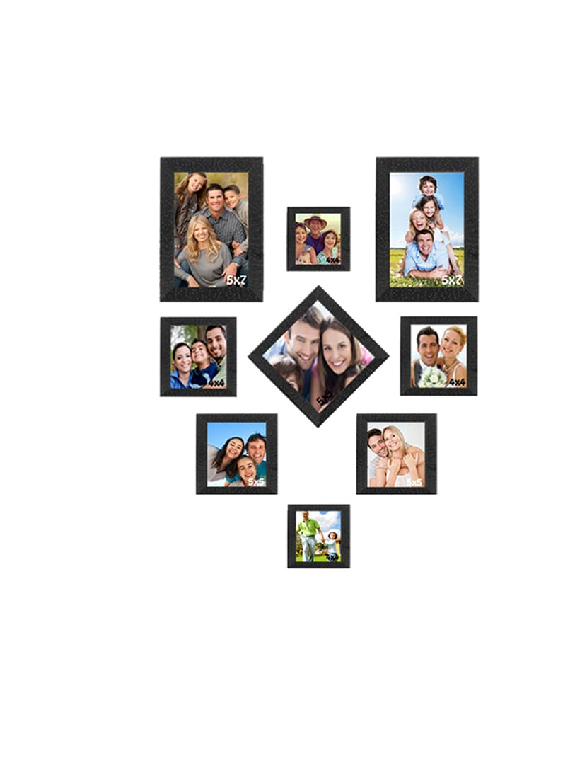 Buy Sifty Collection Collage Photo Frame(5x7) 2, (4x4) 4, (5x5) 3 ...