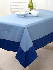 Maspar Twill 7 OZ Blue 6 Seater Table Cover - By