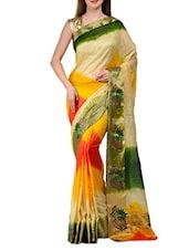 Multicoloured Art Silk Banarasi Saree - SSPK