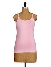 Cotton Lycra Pink Camisole - Amari West