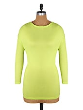 Round Neck Long Sleeves Viscose Top - Amari West