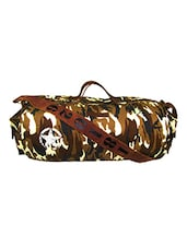 multi colored canvas camouflage dufflebag -  online shopping for dufflebag