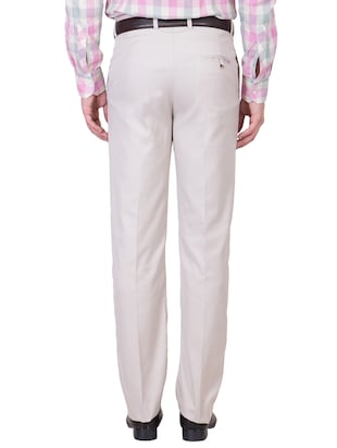 multi colored cotton formal trouser (Set Of 2) - 10972625 - Standard Image - 4