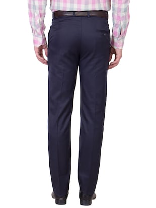 multi colored cotton formal trouser (Set Of 2) - 10972625 - Standard Image - 7