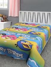 Angry Birds Print Reversible Single Dohar - Furry