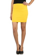 Yellow Tube Skirt - Change360°