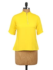 Bright Yellow Polyester Top - Change360��