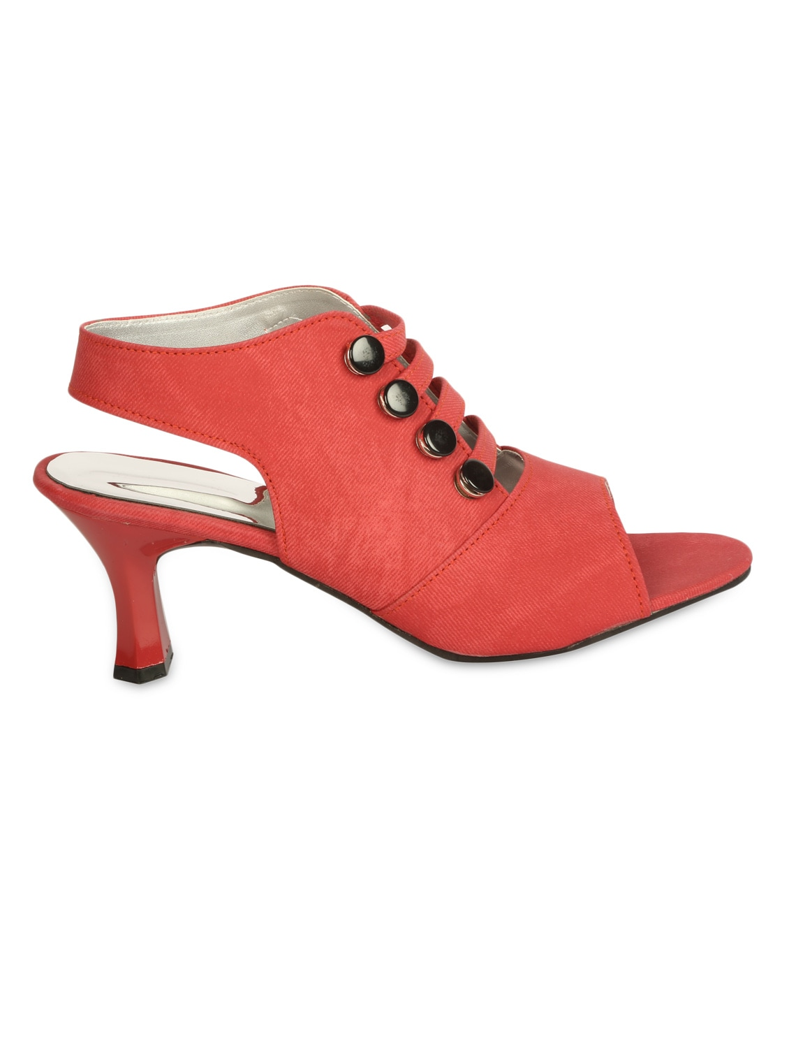 bc5633dea81 Buy Red Back Strap Sandals by Zachho - Online shopping for Sandals in India