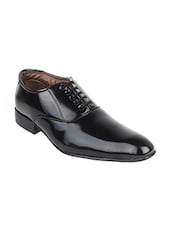 black leatherette formal shoes -  online shopping for Formal Shoes