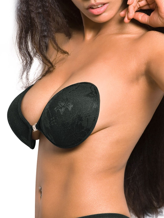 d3ab99134e Buy Black Colored Breathable Stick-on Bra by Blush Hearts - Online shopping  for Bra in India