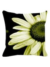 Lemon Daisy Cushion Cover - Leaf Designs