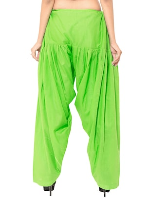 multi colored cotton combo salwars - 11120025 - Standard Image - 4