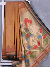 Handwoven Matka Silk Jamdani Weave Saree - Attire Zone