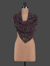 Floral Print Viscose Scarf - I AM FOR YOU