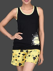 Frog Printed Tank Top & Shorts Set - Nuteez