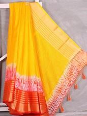Yellow Manipuri Kota Saree - Komal Sarees