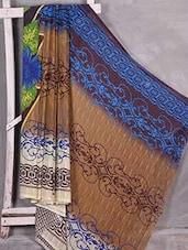 Multicolour Printed Chiffon Saree - Komal Sarees
