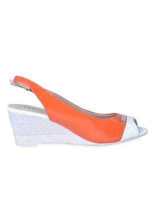 bbf14cbeaa4c Open toe sling back colour block wedges - online shopping for wedges