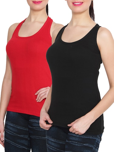 a069455d079e0 Sleeveless tops - Buy Sleeveless tops Online at Best Prices in India -  LimeRoad.com
