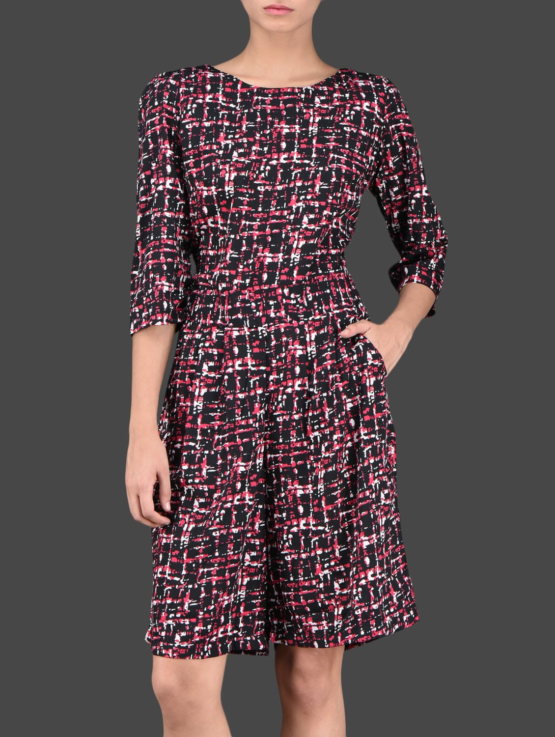 Printed Polyester Jumpsuit - Thegudlook