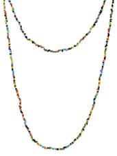 Multicolored Beaded Long Necklace - Jewel Paradise