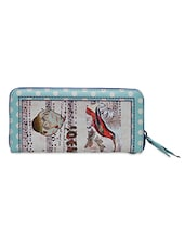 Kingfisher Bird Printed Leatherette Wallet - Hawai