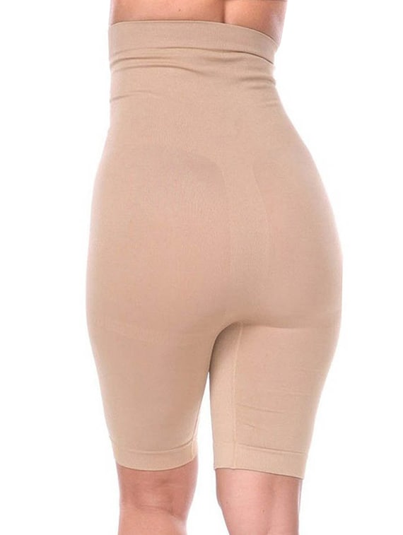 380db25744 Buy Solid Nude Cotton Shaper Brief Shapewear by Afw Women - Online shopping  for Shapewear in India
