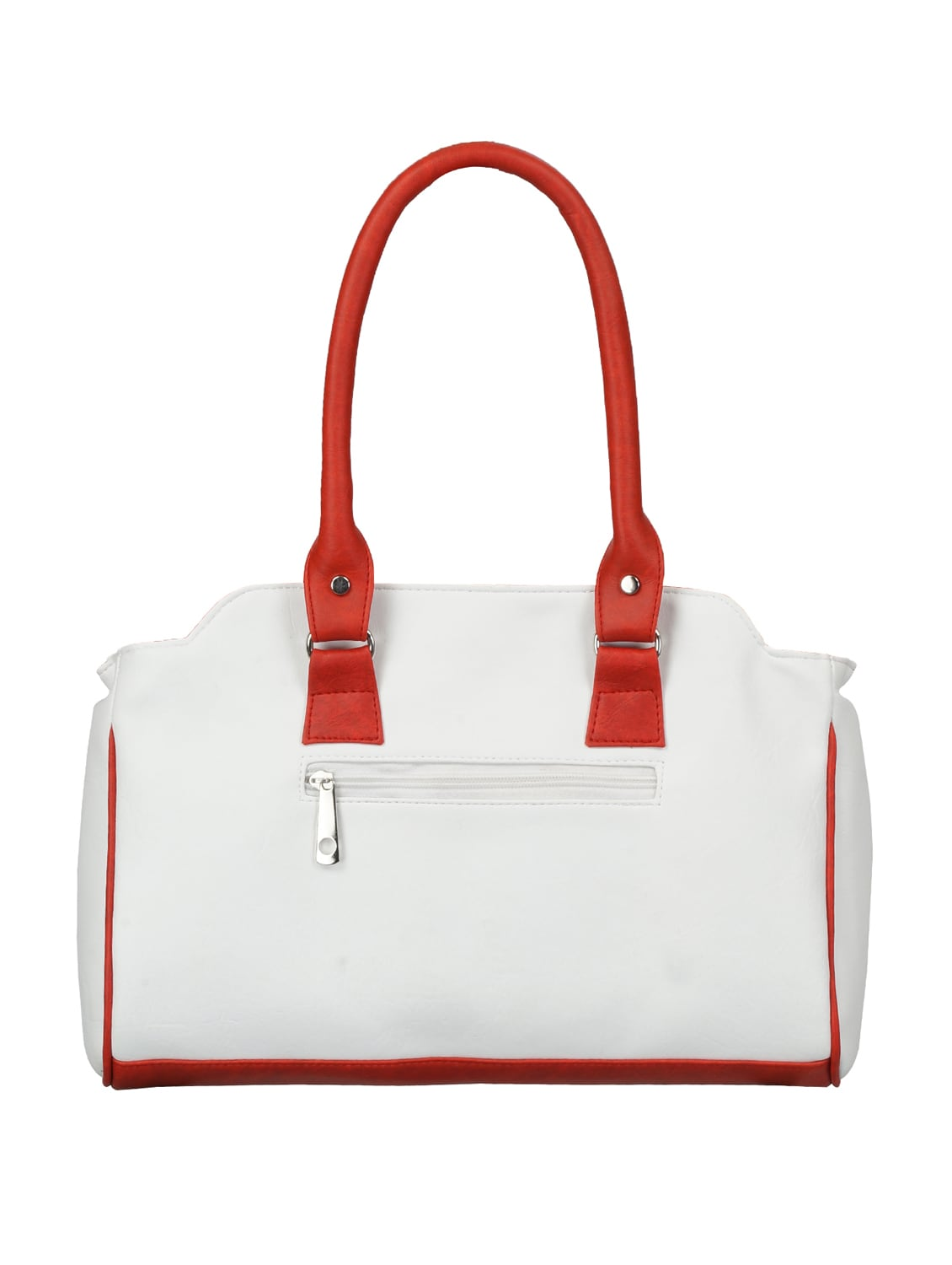 aa12d4b165a Buy White Leatherette Handbag by Fantosy - Online shopping for Handbags in  India