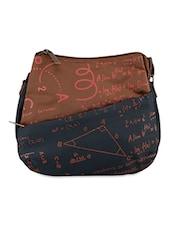 Geometry Formula Print Sling Bag - Baggit