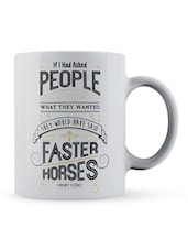"""""""If I Had...Wanted"""" Quote Ceramic Mug - Lab No. 4 - The Quotography Department"""