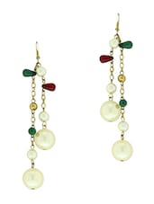 Pearl Dangler Earrings - Blend Fashion Accessories