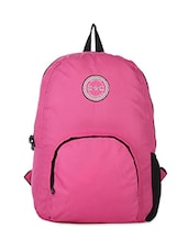 Pink Polyester Backpack -  online shopping for Laptop bags & sleeves