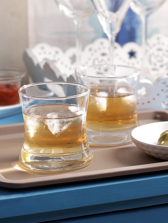ocean tango rock 255 ml glasses   set of 6