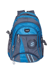 blue & grey backpack -  online shopping for Backpacks