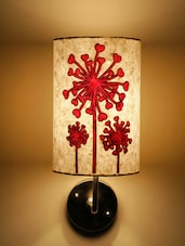 White Flower Of Hearts Wall Lamp - Craftter