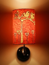 Pink Birds On Tree Wall Lamp - Craftter