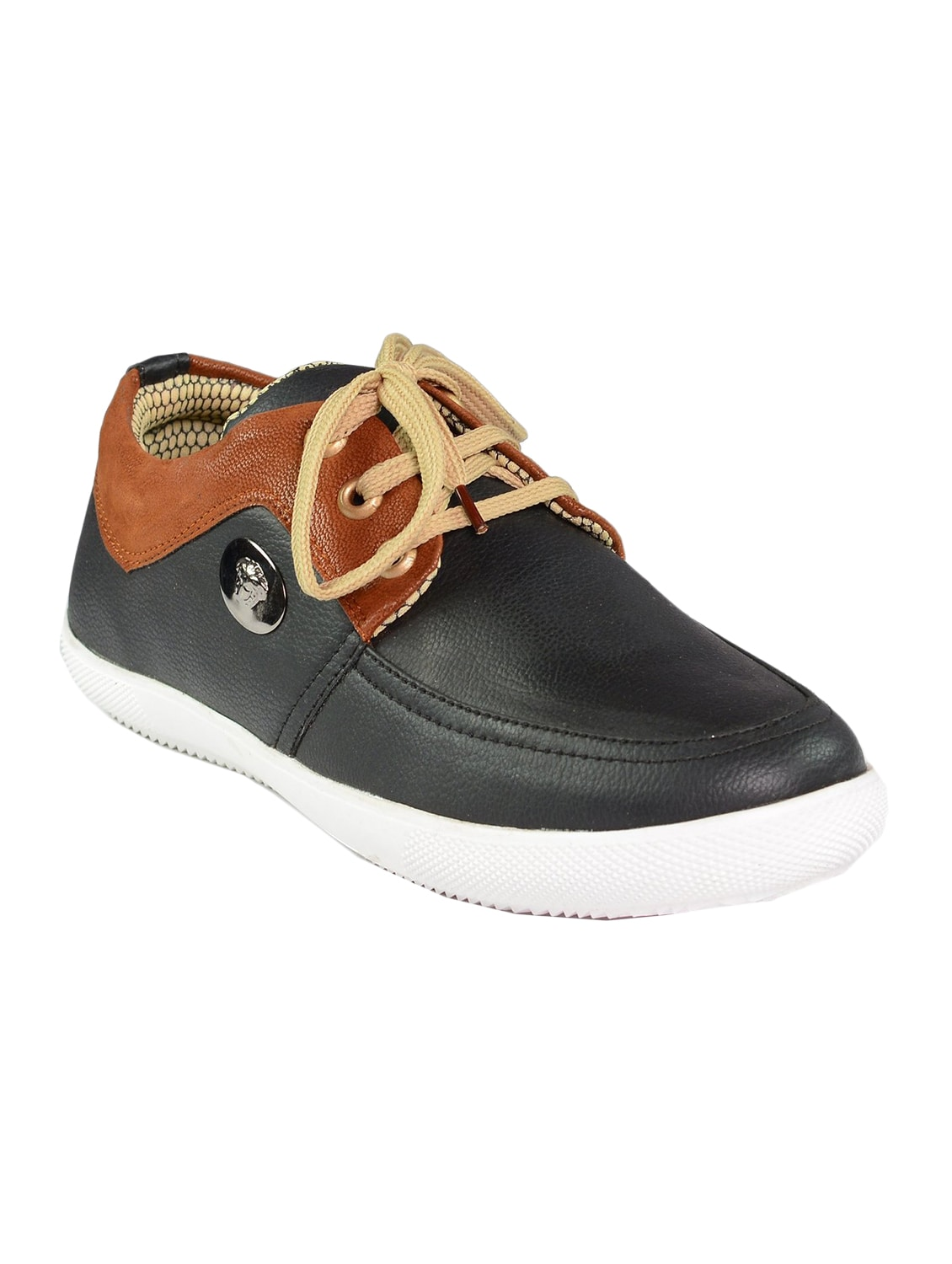 3e854f08b Buy Black Leatherette Lace Up Shoe for Men from Red Craft for ₹1299 at 0%  off | 2019 Limeroad.com