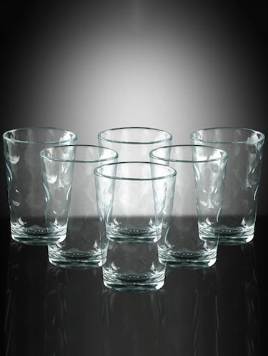 Pasabahce Space 208 cc Water Glasses - Set of 6 - 11371021 - Standard Image - 1