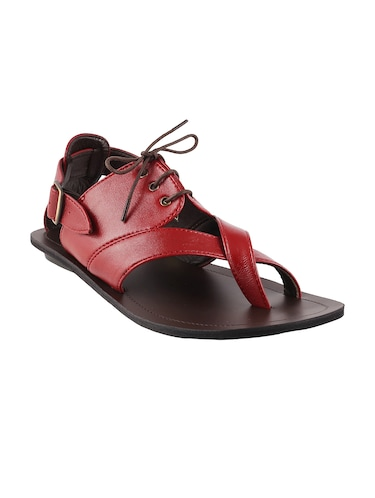 03c2d0a9e3eed8 Sandals and floaters for Men - Buy Leather Floaters Online in India