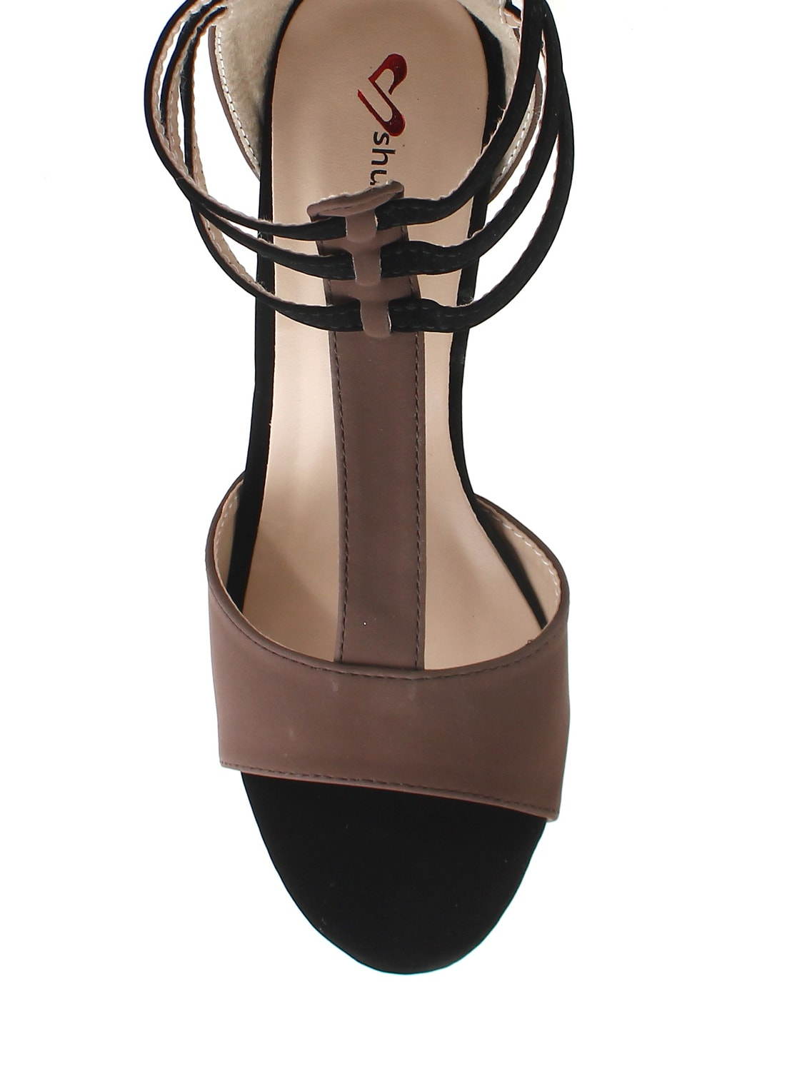 60f5e41a5 Buy Brown Faux Leather Gladiators Sandals for Women from Shuberry ...
