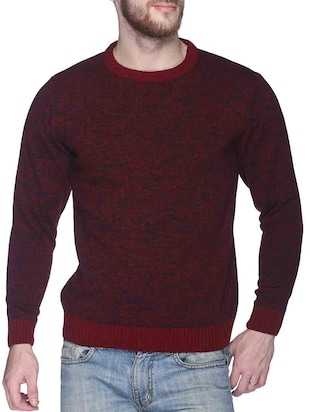 multi acrylic pullover -  online shopping for Pullovers