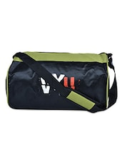 Color Block Nylon Travel Bag - VYU