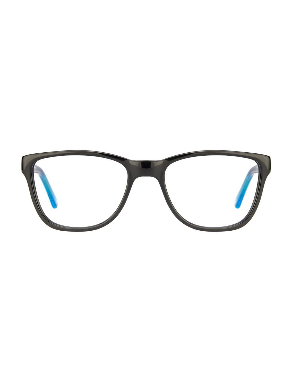 Vincent Chase Premium Vagabond VC 4012 Black Blue Transparent C1 Wayfarer Eyeglasses - By