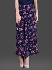 Printed Georgette Palazzos - London Off