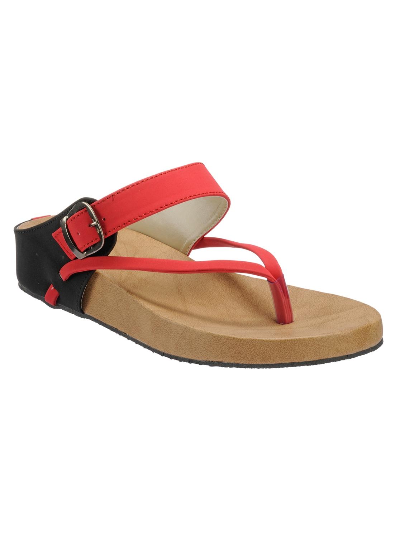 8f8ba6b22d9 Buy Red Velvet Sandal by Zachho - Online shopping for Sandals in ...