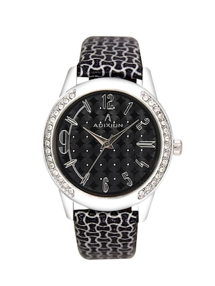 black studded wrist watch -  online shopping for Analog watches